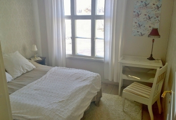 majoitus pieni makuuhuone